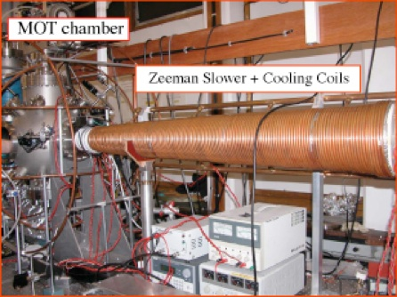 Atom Cooling And Trapping Experiments At Manchester Page