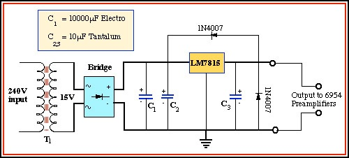Electron Beam Gun Power Supply Diagram on 1 5v 2a power supply schematic diagram