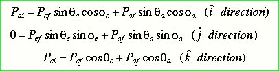 Solving these energy & momentum equations simultaneously yields for