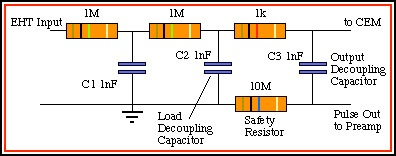 Channel Electron Multiplier on 1 5v 2a power supply schematic diagram